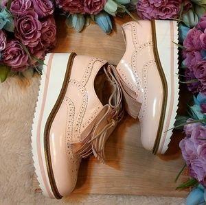 Bershka Chunky Oxford Sneakers